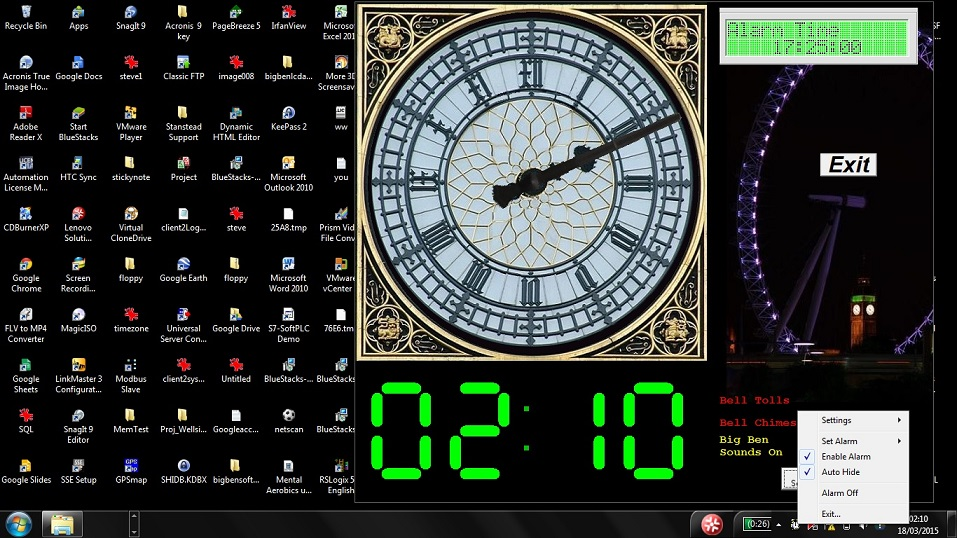 Time in c windows Foto